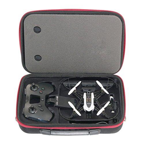 RC Gearpro hardshell spalla custodia compatibile per Parrot Mambo drone e Flypad telecomando impermeabile custodia da trasporto compatibile per Parrot RC Mambo Minidrone