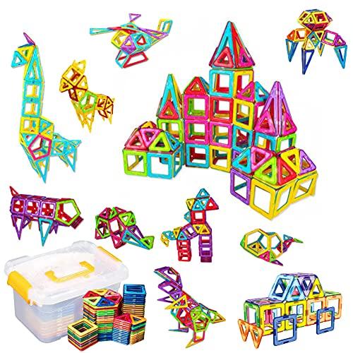 Trintion 40tlg Magnetische Bausteine Magnetic Bauklötze Konstruktion Blöcke Lernspielzeug Magnetspielzeug Magnetbausteine Spielzeug DIY 3D Pädagogische für Kinder