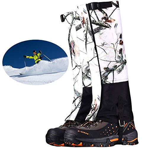 LANGYINH Boot Gaiters,Leg Cover,Boot Cover,Camo Hiking Gaiters,Snow Legging Shoe Cover,Perfect voor Outdoor Hunting Wandelen Backpacking Skiën, Unisex