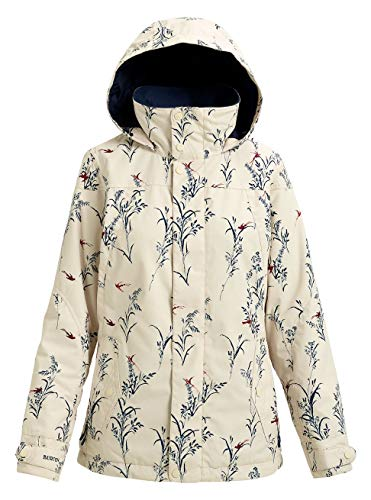 Burton Damen Jet Set Snowboard Jacke, Canvas Birds, M
