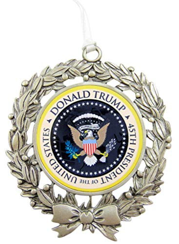 Westmon Works Trump Ornament 45th President Christmas Tree Decoration Boxed, Eagle Design