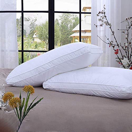 Almohadas blandas para dormir, soporte medio estándar, 2 unidades