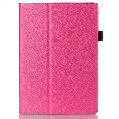 LIUCHEN Funda de tabletaPara Lenovo A10-30F TB2 X30L X30F Tablet 10.1 `` Funda Delicada de Cuero PU para Funda para Lenovo Tab 2 A10-30, Rose