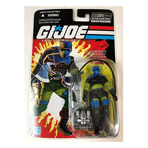 GI Joe Club Barbecue Slaughter's Marauders Firefighter Action Figure
