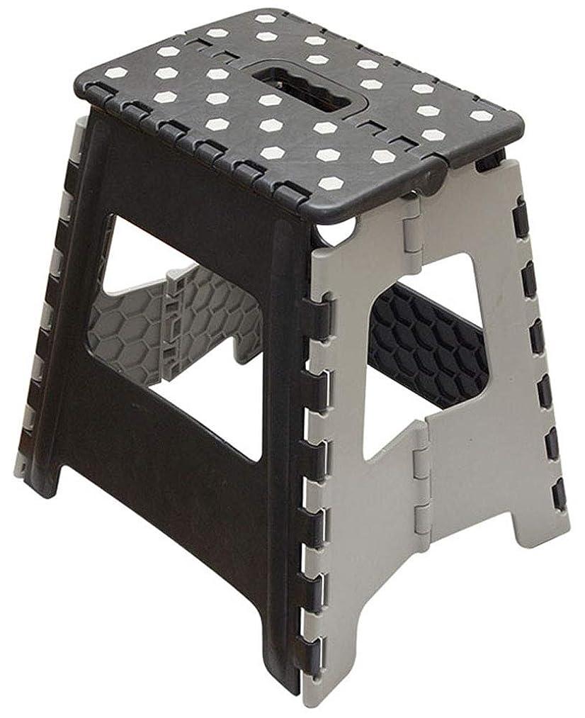 タワー適性つかの間ニッカン(Nikkan) 踏み台 ブラック 39cm Stepping Stool(ステッピングスツール)