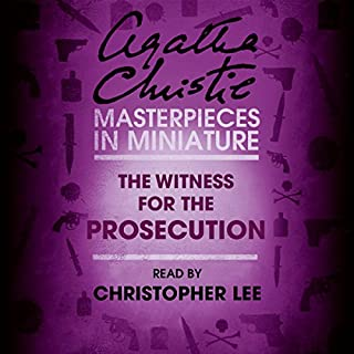 The Witness for the Prosecution: An Agatha Christie Short Story                   By:                                                                                                                                 Agatha Christie                               Narrated by:                                                                                                                                 Christopher Lee                      Length: 51 mins     1 rating     Overall 4.0