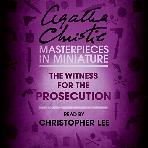 Couverture de The Witness for the Prosecution: An Agatha Christie Short Story