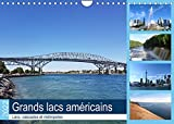 Grands lacs américains (Calendrier mural 2022 DIN A4 horizontal)