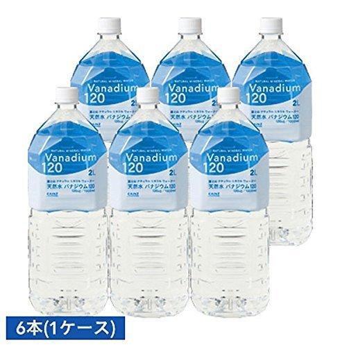 『金賞 国際優秀品質賞 富士山 天然水バナジウム 120 2L×6本』のトップ画像