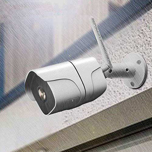 HYLH WLAN Kamera Uuml;berwachungskamera 1080P HD,Outdoor WiFi IP66 wasserdichte Sicherheitskamera, Infrarot Nachtsicht,Zwei Wege Audio,Bewegungserkennung,Modell H6218