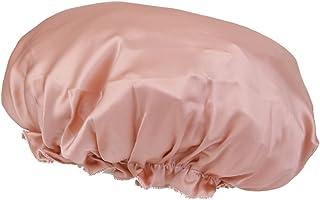 Generic Women's Silk Sleeping Cap (E_55000588, Pink, Free Size)