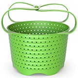 Avokado Silicone Steamer Basket for 6qt Instant Pot [3qt, 8qt avail], Ninja Foodi, Other Pressure Cookers and Instant Pot Accessories - Perfect Pressure Cooker Accessory - Rust and Dent Free