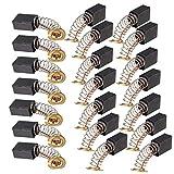 cnbtr 20pcs 6 x 9 x 12 mm Motor eléctrico escobillas de carbono de repuesto para Motor eléctrico