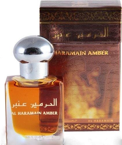 Al Haramain Bernstein von al haramain 15ml Öl basierend parfüm-big ambergris rosenöl