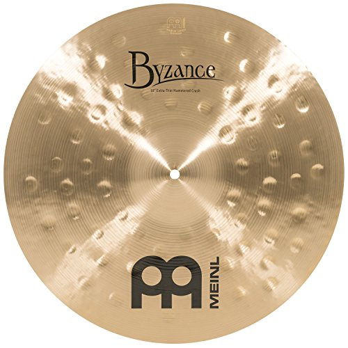 Meinl Cymbals B18ETHC Byzance 18-Inch Traditional Extra Thin Hammered Crash Cymbal (VIDEO)
