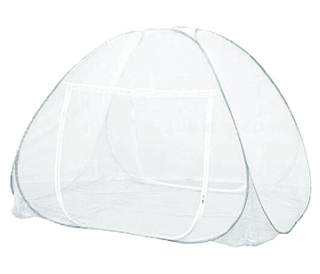 温かい繁栄幻想ウィキャン 蚊帳 ホワイト サイズ/使用時:約幅200×奥行130×高さ150cm、収納時:約幅60×奥行60×厚み6cm