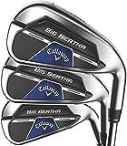 Callaway Big Bertha B21 Iron Set (Set of 6 Clubs: 5IR - PW, Right, Steel, Regular) , Silver