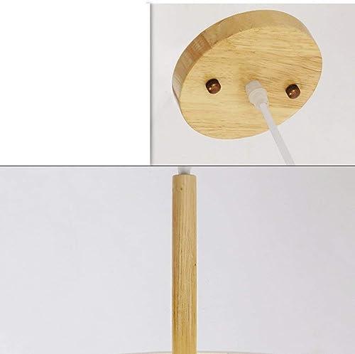 MJY Lustre Lustre Simple Nordique Moderne Petit Salon Chambre Lampe Circulaire étude Créative Tissu Lampes Suspendues Décoration de La Maison