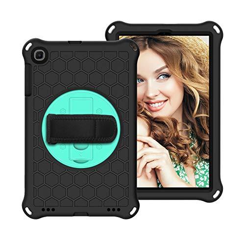 Funda protectora Para Samsung Tab A 10.1 pulgadas Caso 2019 T510 T515.Funda de tableta EVA + PC a prueba de choques livianas y de cuerpo completo, rotación impermeable, impermeable, agarre a mano, cor