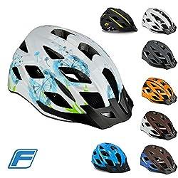 FISCHER Unisex– Erwachsene Fahrradhelm, Montis blau, S/M 52-59