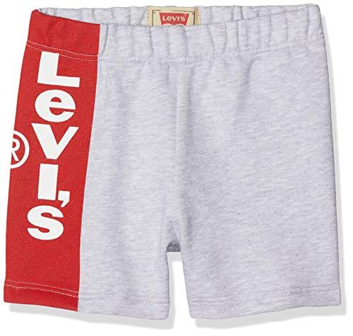 Levi's Kids Baby-Jungen Nn26024 Short Badeshorts, Grau (Light China Grey 22), 9-12 Monate (Herstellergröße: 12M)