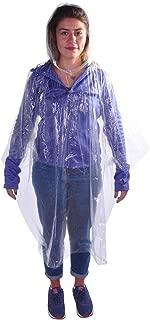 Andoutdoor 200130 Yağmurluk, Unisex, Şeffaf, Tek Beden