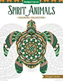 Spirit Animals (Filippo Cardu Coloring Collection) (Design Originals) Adult Coloring Book with 32 Intricate Designs of a Sloth, Butterfly, Cat, Bear, Fish, Horse, Owl, Eagle, Dolphin, and More