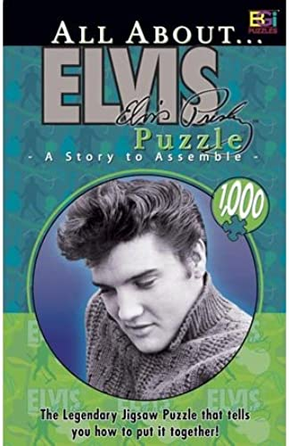 Buffalo Games All About Elvis 1000 Piece Jigsaw Puzzle