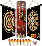 Fungenix, Magnetic Dart Board For Kids, Indoor Outdoor Darts Game, 16pcs...
