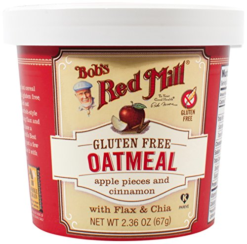Bob's Red Mill Gluten Free Oatmeal Cup, Apple Cinnamon, 8 Count