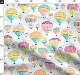 Heißluftballon, Luftballons, Luftschiff, Zeppelin, Wolken,