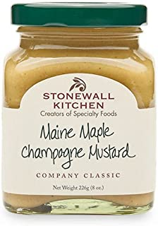Stonewall Kitchen Maine Maple Champagne Mustard, 8 Ounces