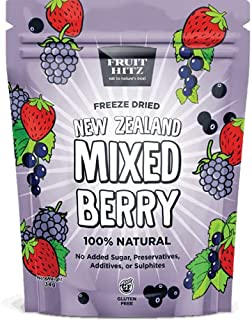 New Zealand Freeze Dried Mixed Berries   No Preservatives, Additives or Sulphites   Gluten Free   Vegan   No Added Sugar  ...