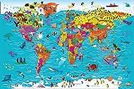 Collins Children's World Wall Map: An illustrated poster for your wall: 12 (Collins Children's Poste...