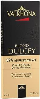 Valrhona, Chocolate Grand Cru Dulcey 32 Bar, 2.46 Ounce