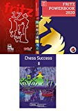 Fritz 17 Chess Playing Software bundled with Fritz PowerBook 2020 PLUS Chess Success II Training Software Game Program