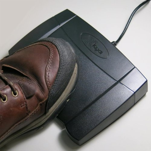 X-keys USB Foot Pedal for Drag and Drop