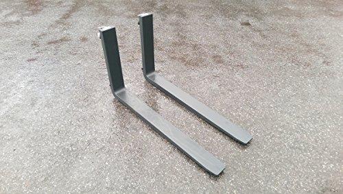 Paar Gabelzinken, Palettengabeln, Staplergabeln Staplerzinken FEM 2 80x40 120cm