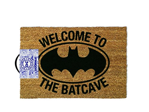 Ootb Essuie-Pieds, Batman - Welcome to The Batcave, 80 x 150 cm