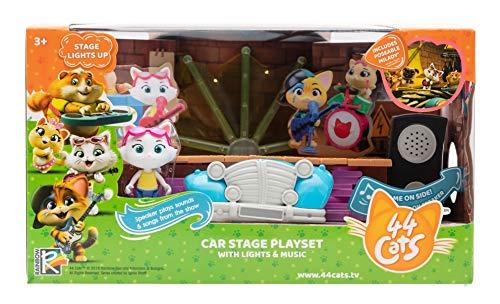 44 Gatti Il palco dei Buffycats con personaggio incluso, musica e luci, dai 3 anni, 3032161802053