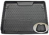 ZentimeX Z3367506 Diamanten-Design Kofferraumwanne fahrzeugspezifisch + Klett-Organizer (Laderaumwanne, Kofferraummatte)