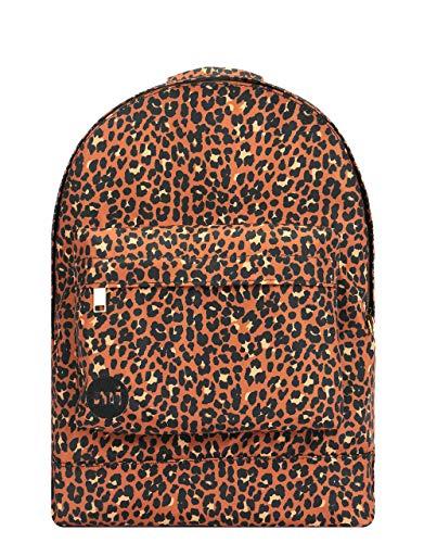 Mi-Pac Nylon Luipaard - Rugzak Casual Daypack, 41 cm, 17 liter;, Zwart