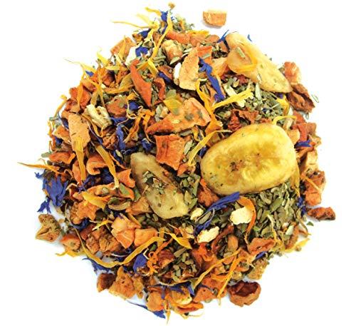 Olijfblad sinaasappel mango losse thee, biologisch, 100 gram