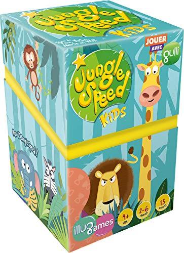 Jungle Speed Kids - Asmodee - Jeu de société - Jeu d'ambiance - Jeu d'observation et de réflexes - Jeu enfant