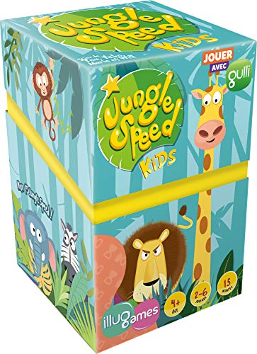 Asmodée- Jungle Speed Kids-IlluGames, ILUJS01FR