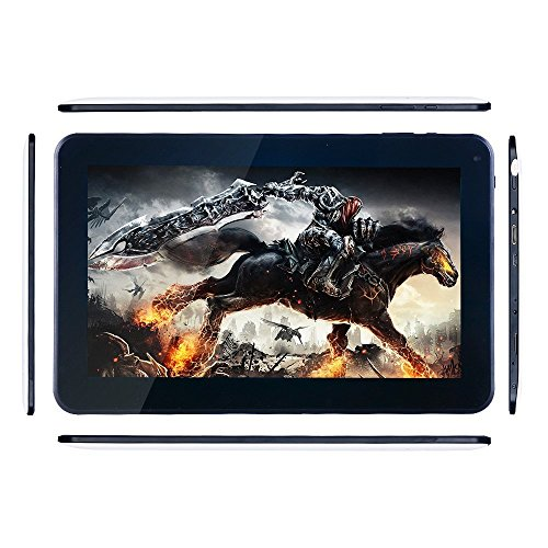 Hipo Intel Quad-Core 10.1Tablet PC Built-In Dual System Win 10and Android 4.4