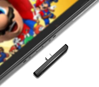 Nintendo Switch Bluetooth オーディオアダプター Nintendo Switch PS4 Switch lite PC用 遅延なしミニ USB-C ヘッドホンレシーバー トランスミッター Bluetoothレシーバー イ...