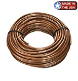 One Stop Outdoor (100' ft Roll) - USA Made - 1/4-Inch x Irrigation/Hydroponics...