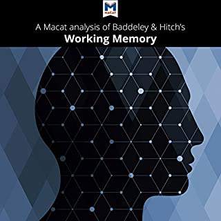 "A Macat Analysis of Alan D. Baddeley and Graham Hitch's ""Working Memory"" cover art"