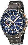 Quantum ADG700.090 Reloj para Hombre, color Negro, Estándar